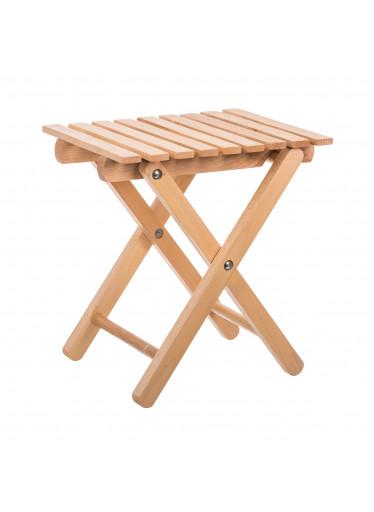ČistéDřevo Dřevěná skládací stolička