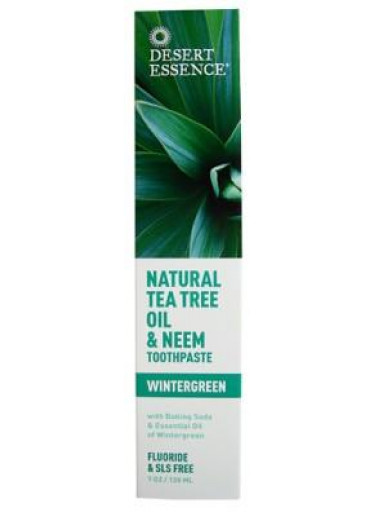 Desert Essence Pasta na zuby NEEM – Tea tree a Neem 130 ml