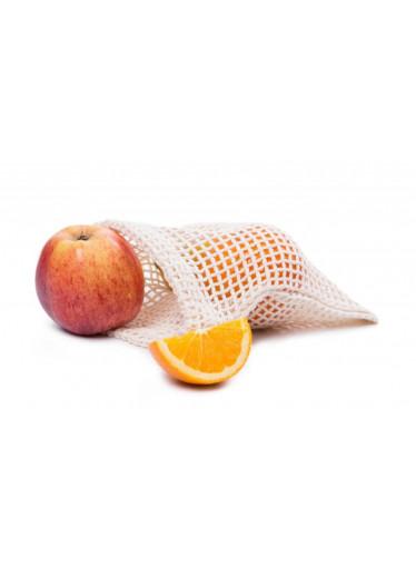 Casa Organica Síťovinový sáček - mini (1 ks) - z biobavlny, s utahovací šňůrkou