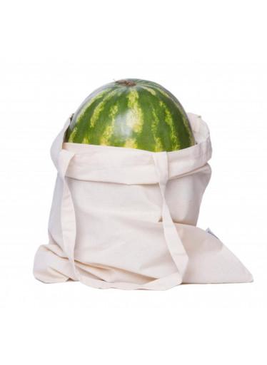 Casa Organica Plátěná nákupní taška - lehká - z nebělené biobavlny