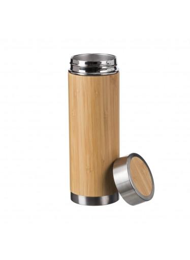 ČistéDřevo Dřevěná termoska 450 ml