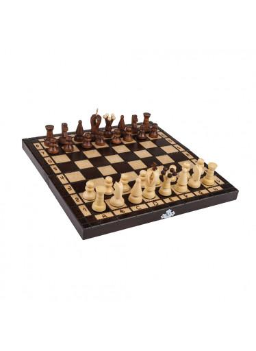 ČistéDřevo Dřevěné šachy malé 31 x 31 cm