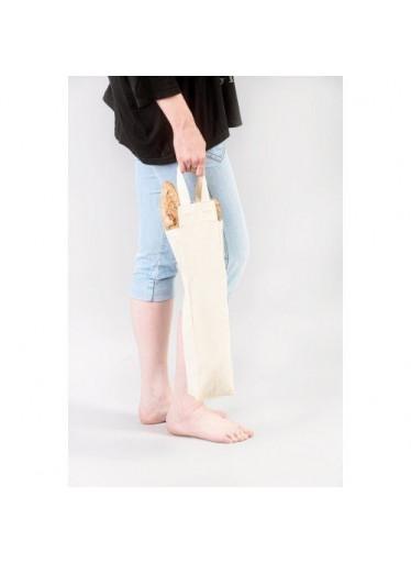 Casa Organica Plátěná taška na bagety - ze silnějšího plátna z biobavlny