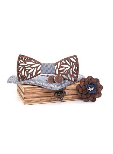 ČistéDřevo Dřevěný motýlek XVI