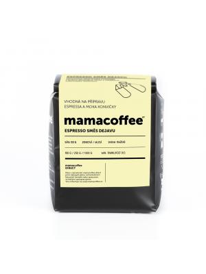 mamacoffee Espresso směs Dejavu 250g - žlutý meloun a třtinový cukr, mléčná čokoláda