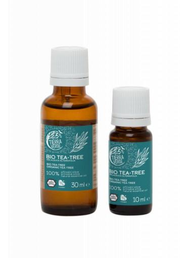 Tierra Verde Silice Tea tree BIO (10 ml) - antibakteriální pomocník