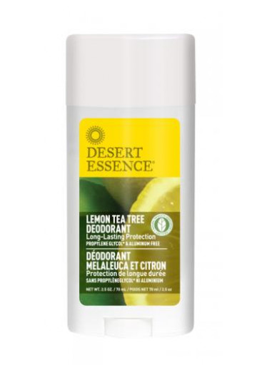 Desert Essence Deodorant Lemon Tea Tree 70 ml - Desert Essence