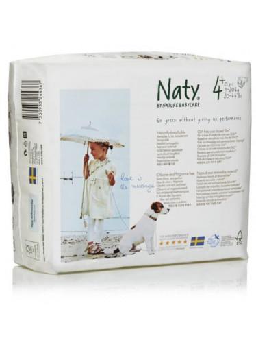 Naty Plenky Nature Babycare Maxi+ 9-20 kg (25 ks)