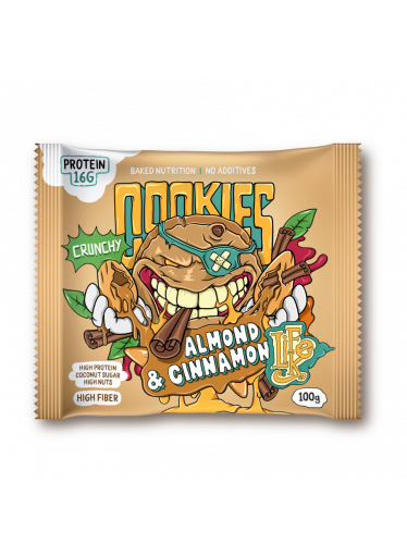 LifeLike Cookies Almond cinnamon 100g