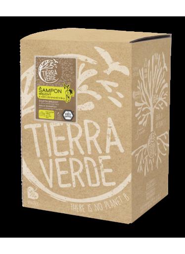 Tierra Verde Březový šampon na suché vlasy s citrónovou trávou (5 l) - dodá lesk a vitalitu