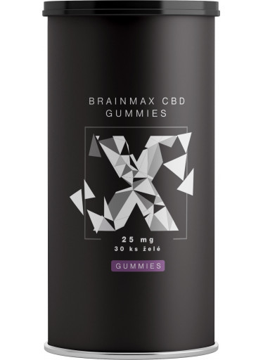 BrainMax CéBéDé Gummies 25 mg, 30 želé bonbónů