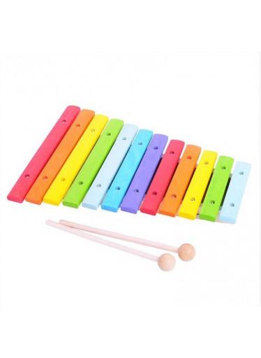 Bigjigs Dřevěný dětský xylofon