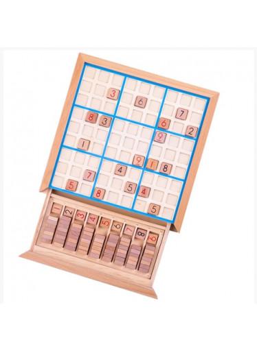 Bigjigs Dřevěné Sudoku