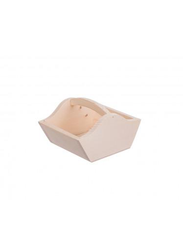 ČistéDřevo Dřevěný košík - malý