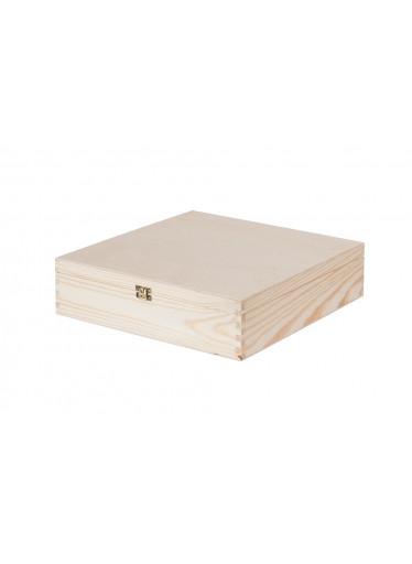 ČistéDřevo Dřevěná krabička na 4 vína