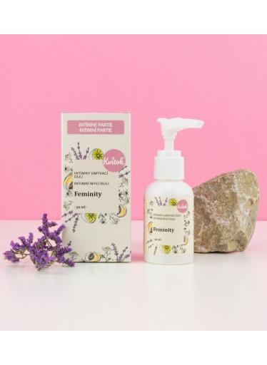Kvitok Intimní mycí emulze Feminity (50 ml) - respektuje ph intimních partií