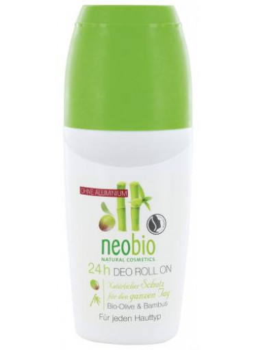 Neobio Deo Roll on Bio-Oliva & Bambus 50 ml