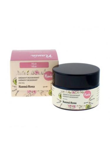 Navia Dámský krémový deodorant Ranní rosa BIO (30 ml)