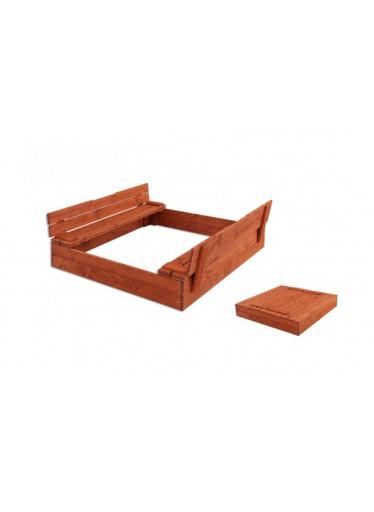 ČistéDřevo Dřevěné pískoviště Komfort