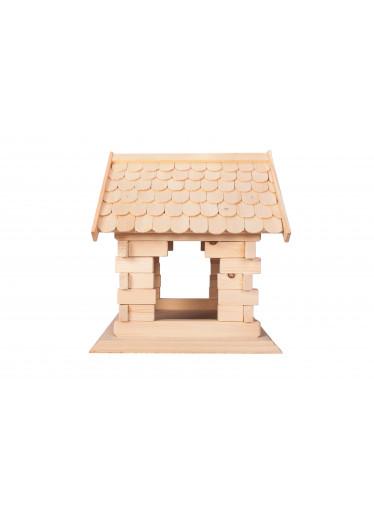 ČistéDřevo Dřevěný domeček pro ptáky