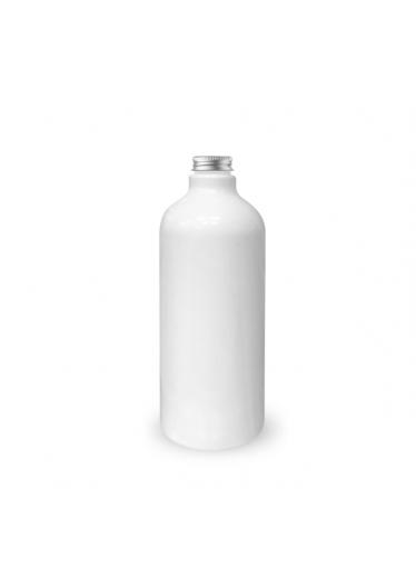 Plastová lahev bílá s hliníkovým víčkem 1000 ml
