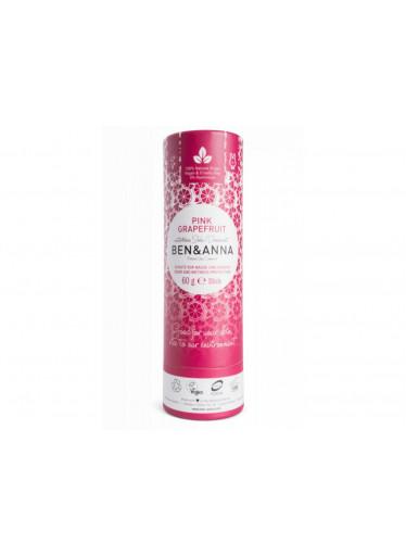 Ben & Anna Tuhý deodorant (60 g) - Růžový grapefruit
