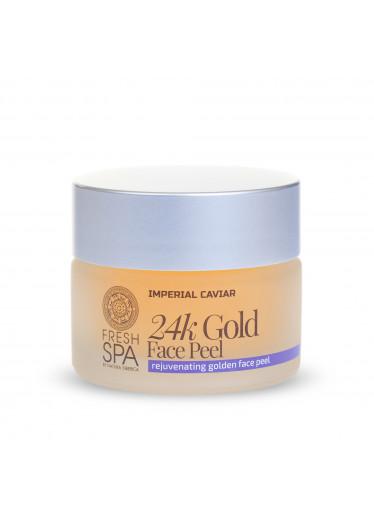Fresh Spa Imperial Caviar Zlatý omlazující pleťový peeling, 50 ml