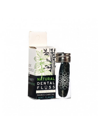 Yoni Bambusová zubní nit - 100% rozložitelná v přírodě