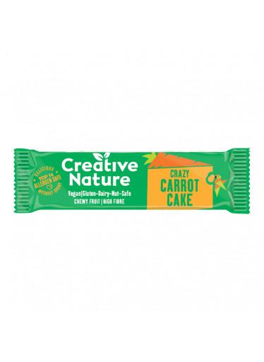 Creative Nature Raw Snack Bar mrkvový koláč 38 g