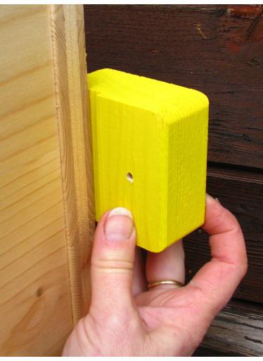 Čmeláci – přídavné držáky pro přidělání velkého čmelínu na zeď – 3 ks