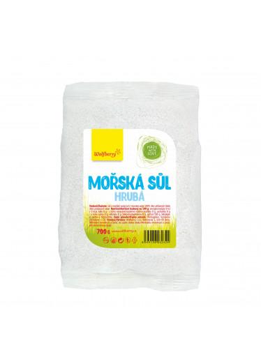 Wolfberry Mořská sůl hrubá 700 g v sáčku