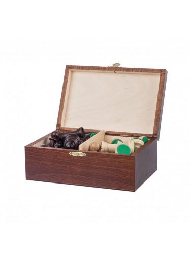 ČistéDřevo Dřevěné figurky v krabičce - šachové