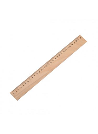 ČistéDřevo Dřevěné pravítko 30cm