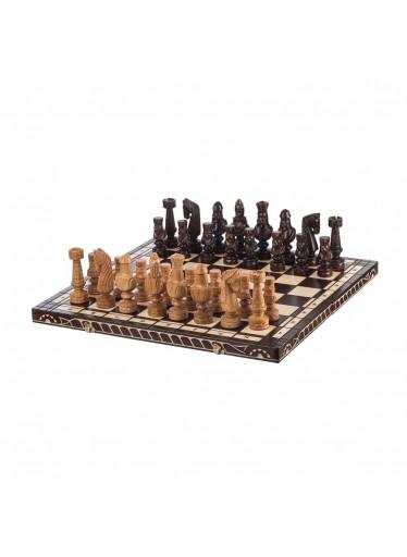 ČistéDřevo Dřevěné šachy 60 x 60 cm