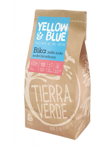 Yellow & Blue Bika – jedlá soda, soda  bikarbona sáček 1000g