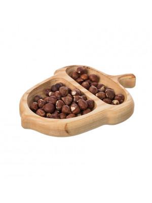 ČistéDřevo Dřevěná servírovací miska - žalud