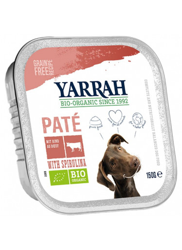 Paté hovězí s řasou spirulina - Yarrah BIO 150 g