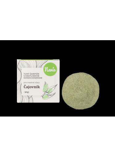 Navia Tuhý šampon s kondicionérem pro mastné vlasy Čajovník XXL (50 g)