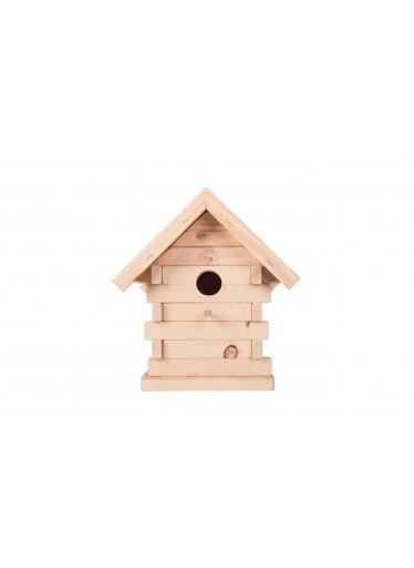 ČistéDřevo Dřevěný domeček pro sýkorky
