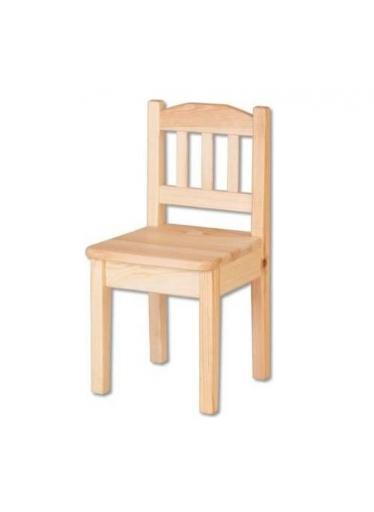 ČistéDřevo Dřevěná dětská židlička