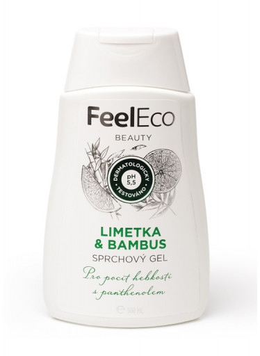 Feel eco sprchový gel Limetka & Bambus - 300 ml