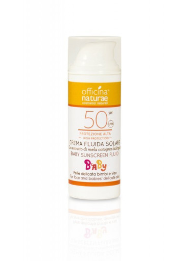 Officina Naturae Dětský opalovací krém bez parfemace SPF 50 BIO (50 ml)