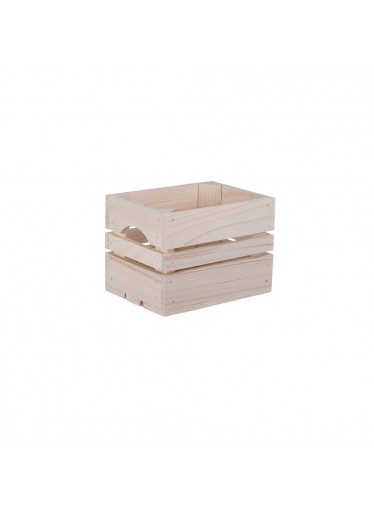 ČistéDřevo Dřevěná bedýnka 20 x 15 x 15 cm