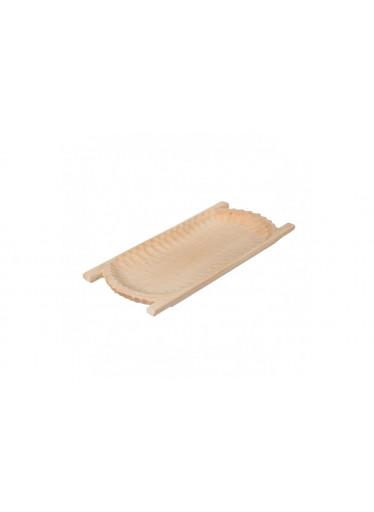 ČistéDřevo Dřevěné dlabané korýtko 60 cm