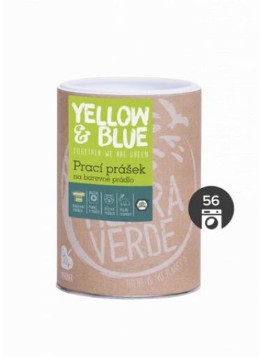 Yellow & Blue Prací prášek na barevné prádlo (dóza 850 g)