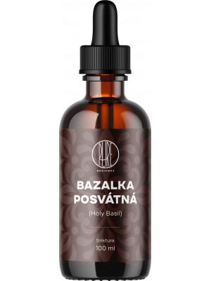 BrainMax Pure Bazalka posvátná (Holy Basil) tinktura, 100 ml