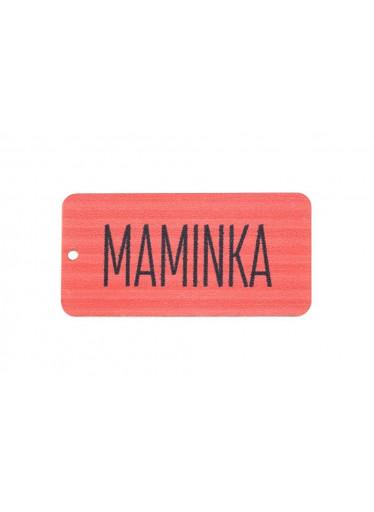 ČistéDřevo Dřevěná cedulka IV - Maminka