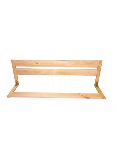 ČistéDřevo Dřevěná bezpečnostní zábrana do postele 67 cm