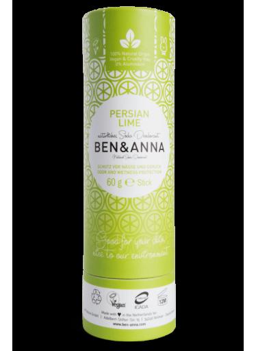 Ben & Anna Tuhý deodorant BIO (60 g) - Perská limetka