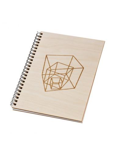 ČistéDřevo Dřevěný blok A5 - geometrie